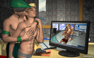 Second Life Sucht